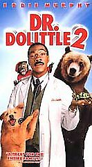 Dr. Dolittle 2 (VHS, 2001) EDDIE MURPHY. FREE SHIPPING