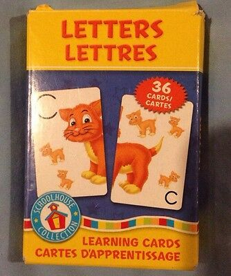 """Letters"" Learning Flash Cards (set of 36)"
