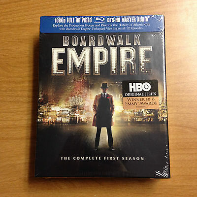 Boardwalk Empire - The Complete First Season - Blu Ray Disc Brand New