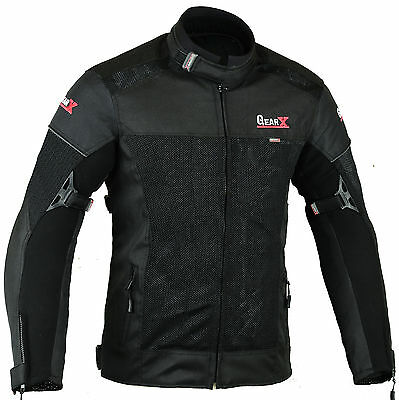 Airvent Lite Motorbike Motorcycle Protection Jacket with Armours