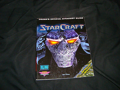 StarCraft  PC Prima Official Strategy Guide book maps hint blizzard pc game rare
