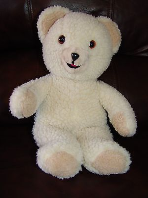 Vintage 1986 Lever Brothers Snuggle the Fabric Softener Bear Plush Doll 15""