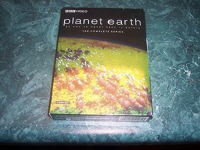 Planet Earth : The Complete Series [5 Discs] (2007, DVD) Private Owned