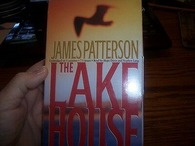 The Lake House by James Patterson (2003, Unabridged) 5 cassettes