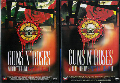 GUNS N' ROSES Use Your Illusion 1 & 2 Live DVD SET, New!!