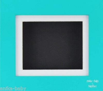 New Blue White Black Deep Box Display Frame Baby Boy Casts 2D 3D Pictures Crafts