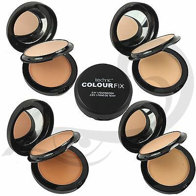 Technic Colourfix 2 In 1 Cream Foundation & Face Powder Compact