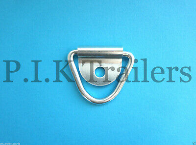 1 x Tie Down Lashing Ring & Cleat for Trailers Horsbox