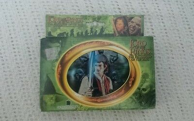 Lord of the Rings  Fellowship Limited Edition Playing Cards & Tin 2001 New