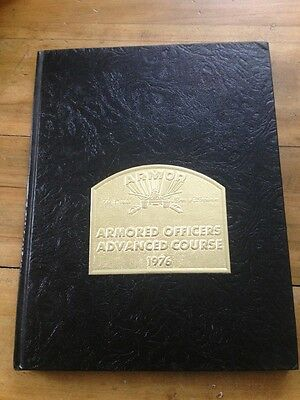 United States Army Armored Officer School Fort Knox Kentucky Yearbook 1975-76