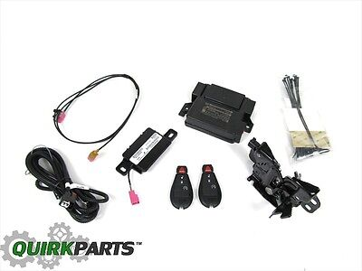 2014 Dodge Ram 1500 2500 Remote Start Kit W/ 2 Key Fobs Oem New Mopar # 82214054