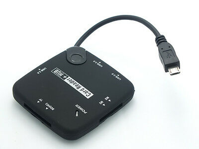 7-in-1 Micro USB HUB and SD TF Card Reader OTG Samsung Galaxy S4 S5 S6 Note 3 4