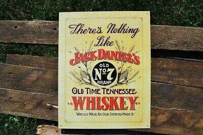 Barware Jack Daniels Nothing Like Embossed Steel Sign 300mm X 200mm Kitchen, Dining, Bar hi