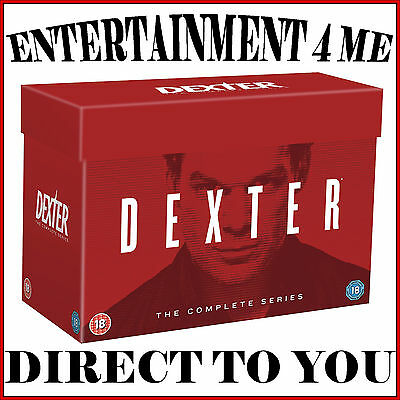 Dexter - Complete Series - Seasons 1 2 3 4 5 6 7 & 8 *brand New Dvd Boxset*