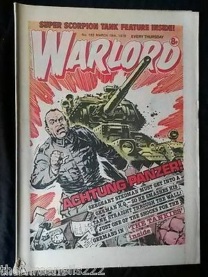 Warlord #182 - March 18 1978