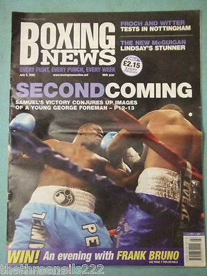 BOXING NEWS - THE NEW McGUIGAN - JULY 8 2005