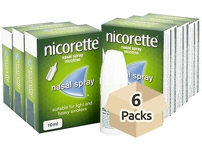 Nicorette Nasal Spray 10ml x 6 Pack