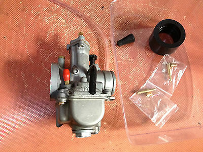 new carburetor 28mm 2- stroke racing flat side the OEM part for OKO carb  28 OKO
