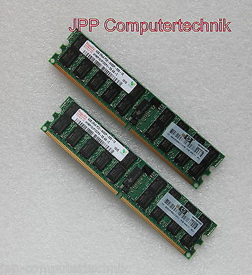 8GB 2x 4GB RAM HP 499277-061 PC2-6400P Registered ECC DIMM Server Speicher