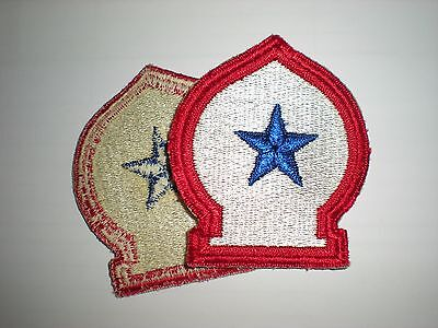 Us Army Mediterranean Theater Of Operations Unit Patch Wwii (Original)