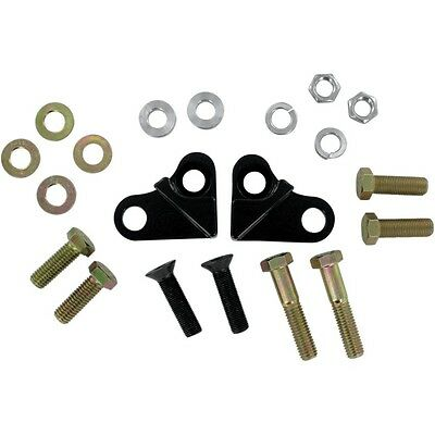 LA Choppers Black 1.5 in. Rear Lowering Kit For Harley Touring 1985-1996