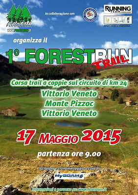 FOREST RUN TRAIL  17 maggio 2015