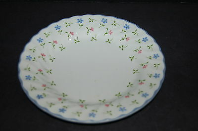4 - Johnson Brothers Melody Bread and Butter Plate - Set of 4