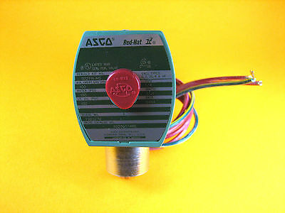 "Asco Red-Hat -  8320G174MS -  Solenoid Valve, 100psi, 1/4"" Pipe, 17.1W"