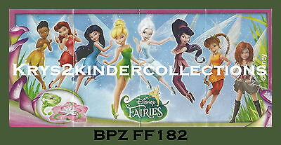 BPZ kinder Disney Fairies Cristal FF182 avec petit K France 2014