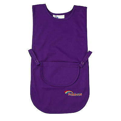 RAINBOWS TABARD RED OR VIOLET GIRL.    All Sizes.  Official Supplier.