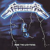 Ride the Lightning **OUT OF PRINT** Metallica *Sealed* 180 Gram 45 RPM Vinyl LP