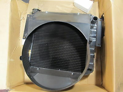 Radiator Fg30 Unused Nos Military Some Clark And Mitsubishi Forklifts