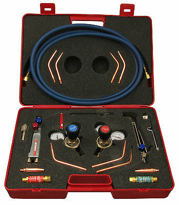 Welding and Cutting Oxygen / Acetylene Complete Set Regulator / Flashback set