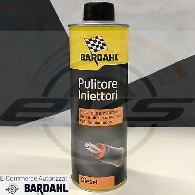 Additivo Urto Pulizia Iniettori Gasolio Bardahl Diesel Injector Cleaner 500ml