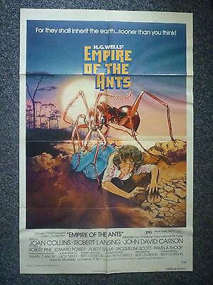 EMPIRE OF THE ANTS Original Vintage 1970s OS Horror Movie Poster