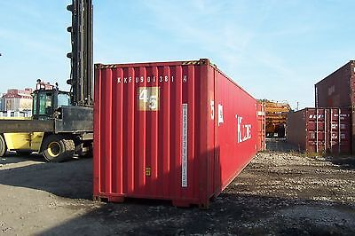 45' High Cube Cargo / Storage / Shipping Container Chicago, IL