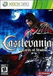 XBOX 360 CASTLEVANIA LORDS OF SHADOW BRAND NEW SEALED