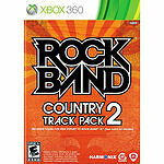 XBOX 360 ROCK BAND COUNTRY TRACK PACK 2 ROCKBAND BRAND NEW & SEALED