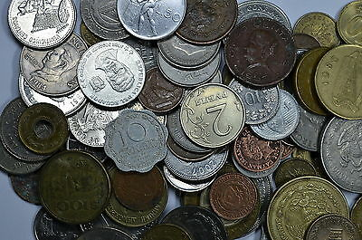 Lot of 10 random World Foreign coins  See description for details Ships for free