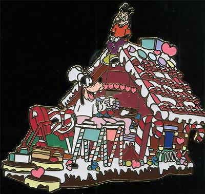 Christmas Parade Series - Goofy's Gingerbread House - Max LE Disney Pin 8488