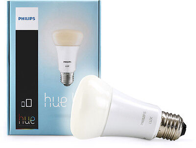 Philips hue Lux Extension 750-Lumen 9W Dimmable A19 LED Light Bulb 60W Equiva...
