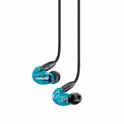 SHURE Canal Sound Isolating Earphones SE215 Special Edition Bule Japan Import!!