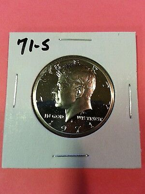 1971-S US PROOF KENNEDY HALF DOLLAR FROM US PROOF SET