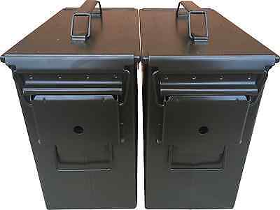 Blank 2 Cans! Brand New Mil-Spec Tall 50 Cal Pa-19 Empty Ammo Can Rare