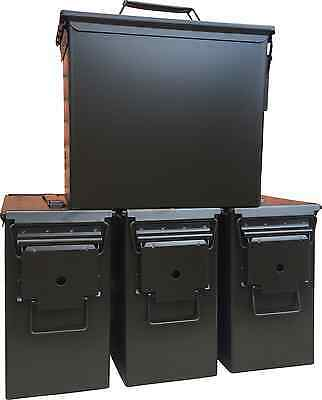 Blank 4 Cans! Brand New Mil-Spec Tall 50 Cal Pa-19 Empty Ammo Can Rare