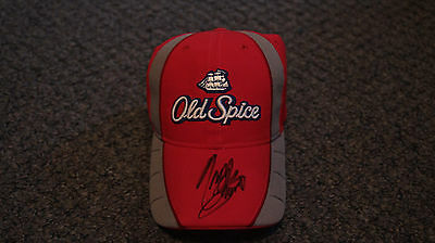 Tony Stewart Signed/ Autographed Old Spice Hat