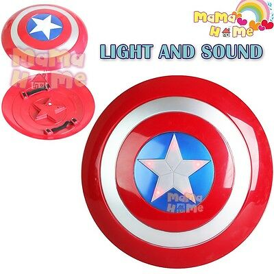 Kids 32CM Captain America Shield Costume Accessory Toy Superhero Avengers