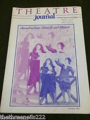 Theatre Journal - Oct 1982 - Moliere Special