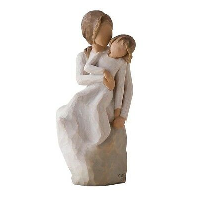 New & Boxed Willow Tree Figurine child 'Mother Daughter' #27270 Mothers Day Gift