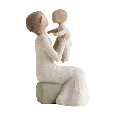 New & Boxed Willow Tree Figurine Baby Child 'Grandmother' #26072 Mothers Day Gif
